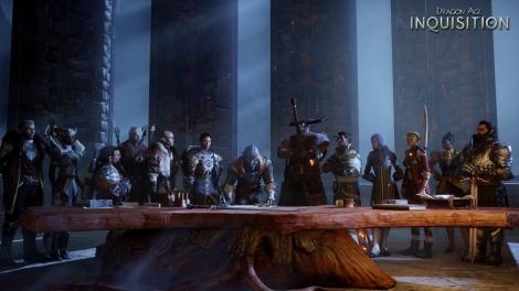 Dragon Age Inquisition Consejo de Guerra