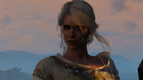 De temps en temps, on a la possibilité d'incarner Ciri