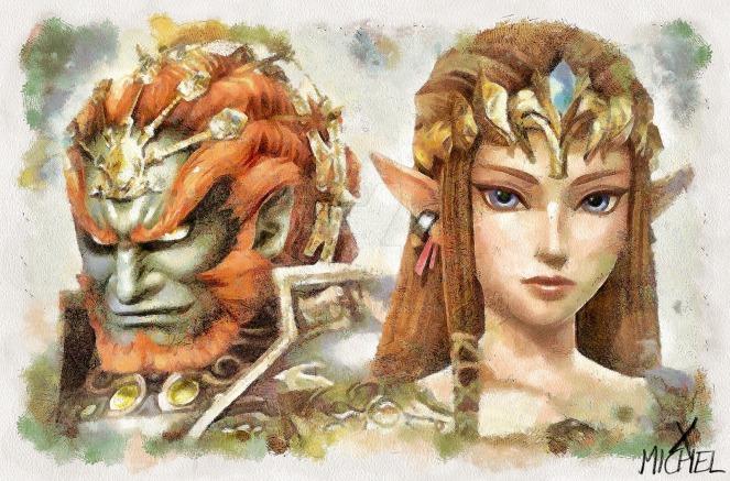 ganondorf_and_princess_zelda__twilight_princess____by_michelrt-d9i4kxi