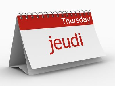 thursday-jeudi